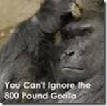 800 Lb Gorrilla ignored