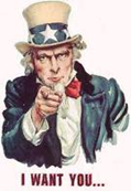 Volunteer - Uncle Sam