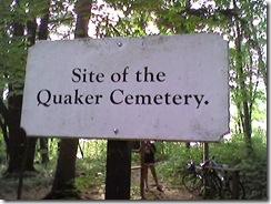 Quaker Cemetary Trail