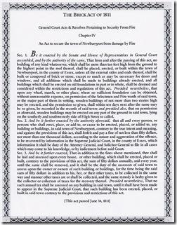 Brick Act of 1811